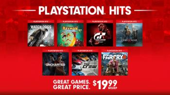 Этой осенью, линейка PlayStation Hits пополнится 7 играми