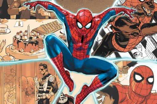 Человек-паук иоборотни навариативных обложках кAmazing Spider-Man: Full Circle