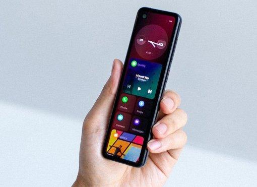 Смартфон Essential Phone 2 отсоздателя Android похож напульт управления