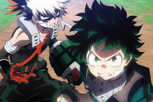 Втрейлере аниме-фильма Boku noHero Academia Heroes: Rising герои сталкиваются сновой угрозой