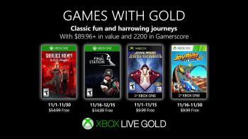 Ноябрьские игры для подписчиков Xbox Live Gold