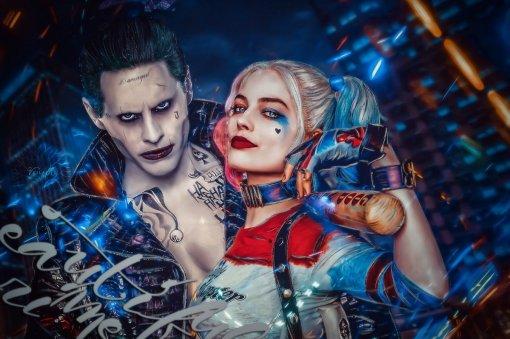 Режиссер первого «Отряда самоубийц» выложил новое фото Джокера сХарли