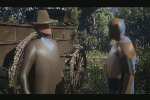 Как выглядит Red Dead Redemption 2 наPCпри минимальных настройках? Словно ночной кошмар!