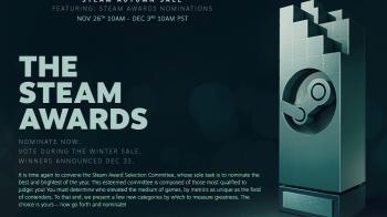 Начался сбор номинантов на The Steam Awards 2019