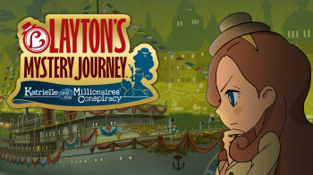 На Nintendo Switch доступна Layton's Mystery Journey: Katrielle and the Millionaires' Conspiracy