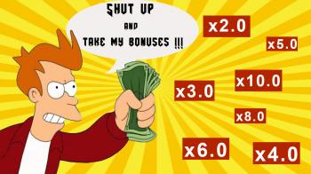Тратим бонусы по-чёрному!