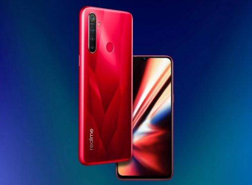 Бюджетный смартфон Realme 5s сбатареей на5000 мАч оценили в9000 рублей