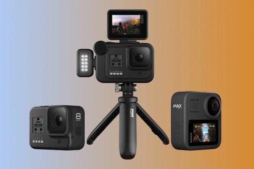 ВРоссии представили экшен-камеры GoPro Hero 8 Black иMax