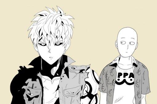 Вотрывке изнового OVA-эпизода аниме «Ванпанчмен» Сайтама делает то, что умеет лучше всего