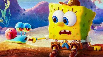 Постеры нового анимационного фильма о Губке Бобе
