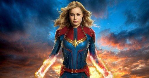 Появился кадр из «Мстителей: Эра Альтрона» с участием Капитан Марвел