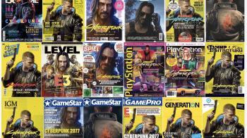 Cyberpunk 2077 украсил 36 обложек журналов в 2019 году