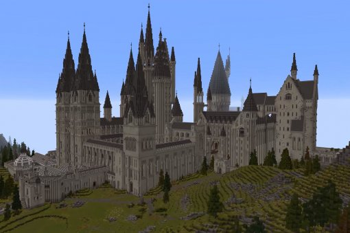 ВMinecraft сделали игру про мир «Гарри Поттера» сХогвартсом, магией иRPG-элементами
