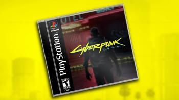 Как бы выглядела Cyberpunk 2077 для первой PlayStation