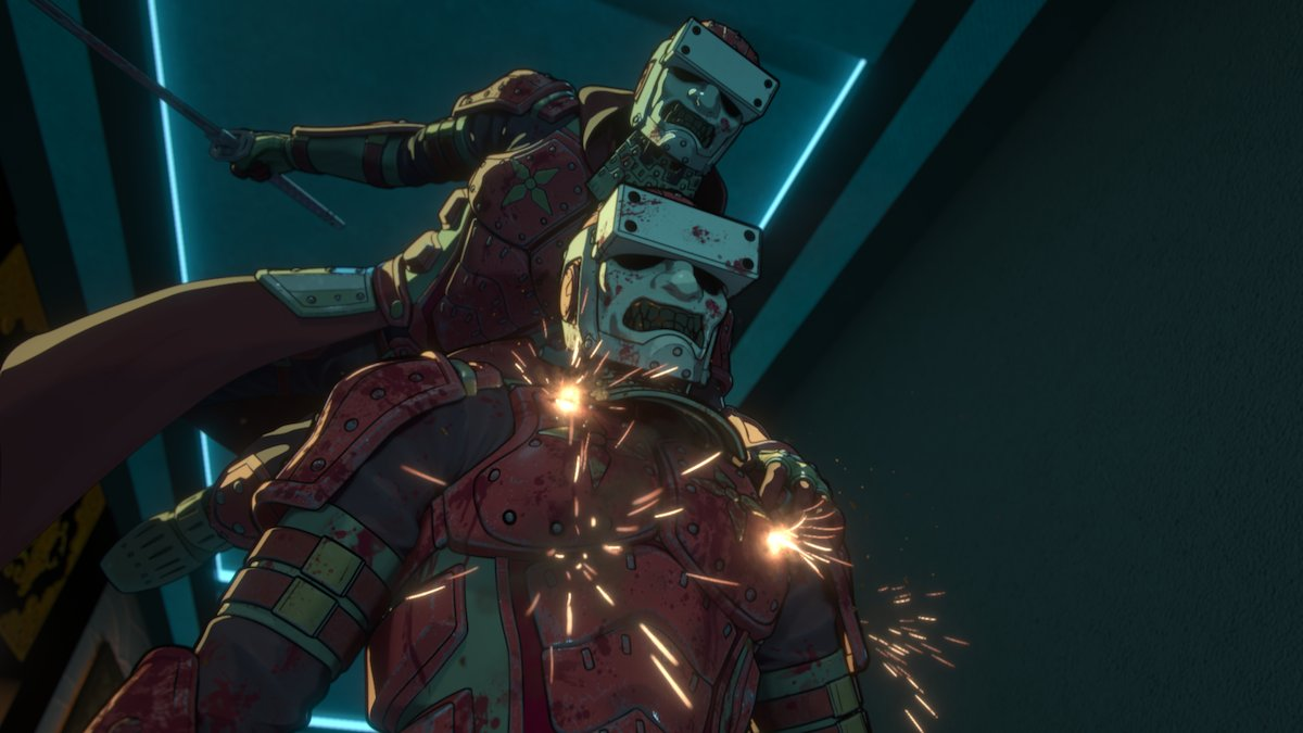 Netflix показал новые кадры аниме по«Видоизмененному углероду»