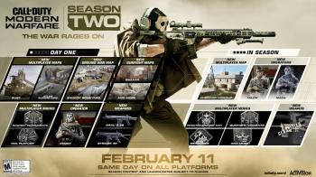 Опубликована дорожная карта второго сезона Call of Duty: Modern Warfare