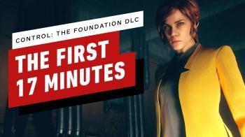 Первые 17 минут дополнения The Foundation для Control