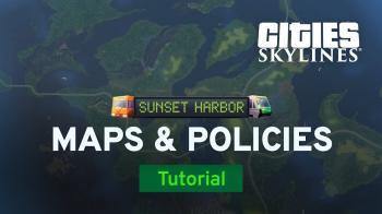 Свежий ролик DLC Sunset Harbour для Cities: Skylines посвящён новым картам и авиационному клубу