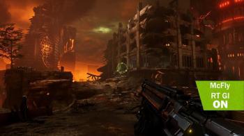 Вот как выглядит Doom Eternal с эффектами трассировки лучей через Reshade