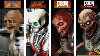 Эволюция демонов в Doom