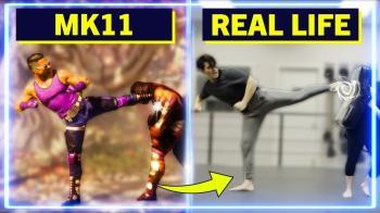 Мастера боевых искусств повторили некоторые движения из Mortal Kombat 11 в реальной жизни