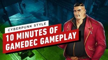10 минут геймплея польского киберпанка Gamedec