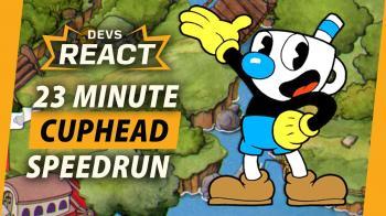 Реакция разработчиков Cuphead на спидран своей игры за 23 минуты