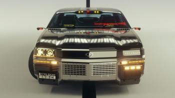 Официальные арты такси из Cyberpunk 2077
