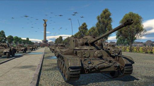 Виртуальный Парад Победы пройдет вигре War Thunder
