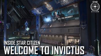 Star Citizen показывает первый взгляд на событие Pyro I и Invictus