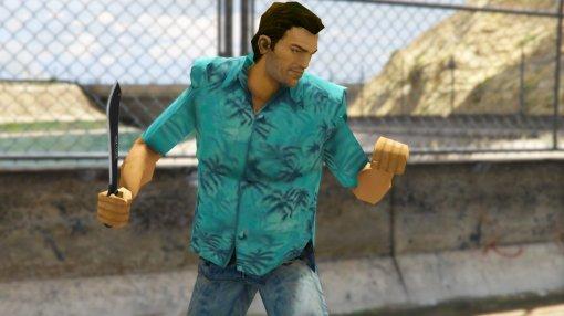 Повод перепройти GTA: Vice City. Игра получила русскую озвучку иновый перевод