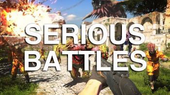 5 геймплейных видео Serious Sam 4: Planet Badass