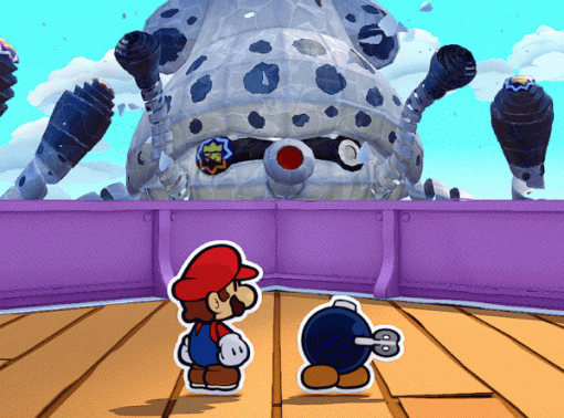 Nintendo показала геймплейный трейлер Paper Mario: The Origami King