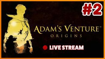 Запись официального стрима издателей Adam's Venture: Origins с целым часом геймплея игры