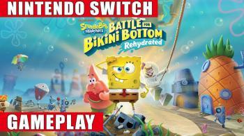 Полчаса геймплея SpongeBob SquarePants: Battle for Bikini Bottom - Rehydrated