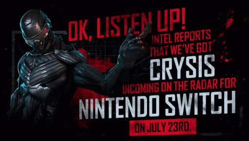 Crysis Remastered наSwitch выйдет уже 23июля
