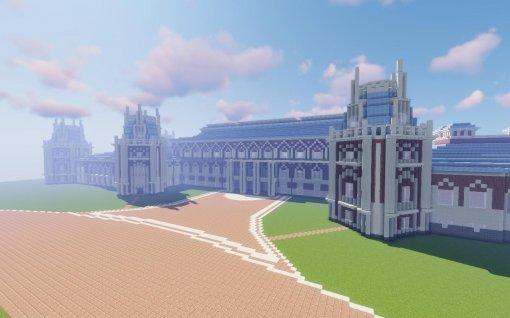 Музей «Царицыно» ищет волонтеров для строительства своей резиденции вMinecraft