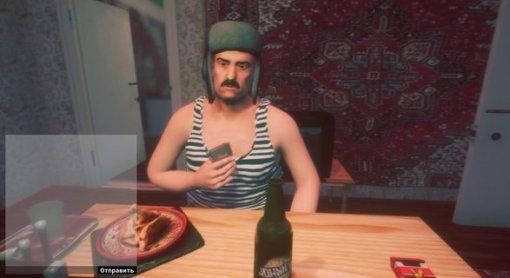 Российские разработчики выпустят игру, вкоторой можно будет выпить смедведем