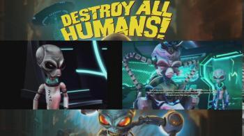 Сравнение оригинала и ремейка Destroy All Humans!