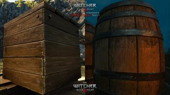 Четвёртое сравнительное видео The Witcher 3 HD Reworked Project 12.0 Ultimate
