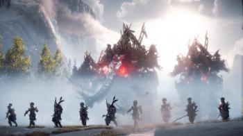 Встречайте могучего Tremortusk - настоящую странствующую крепость из Horizon: Forbidden West