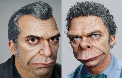 Неземные «красавцы»: художник показал реалистичных МоСизлака иЖирного Тони из«Симпсонов»