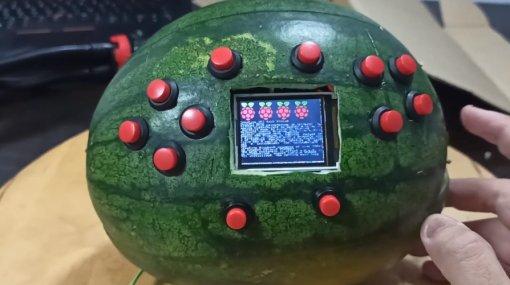 Melon Boy: студент сделал консоль изарбуза