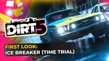 Новое видео DIRT 5 показывает, чего ждать от ивента Ice Breaker