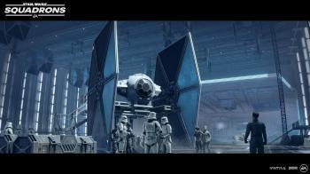 Новые официальные скриншоты Star Wars Squadrons