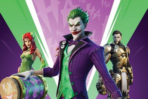 Epic Games анонсировала Fortnite: The Last Laugh Bundle— внего войдет скин Джокера
