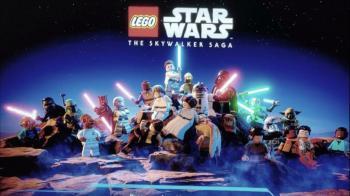 Стартовый экран LEGO Star Wars: The Skywalker Saga