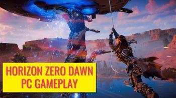 Более часа игрового процесса Horizon Zero Dawn на ПК