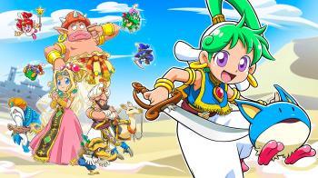Анонсирована игра Wonder Boy: Asha in Monster World для PS4, и Switch