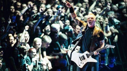 Metallica работает над музыкой для фильма Disney сДуэйном Джонсоном иЭмили Блант